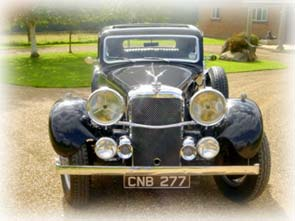1936 Alvis Speed 20 Lancefield Saloon