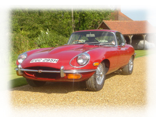 1970 Jaguar E Type Series II Coupe