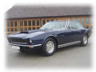 1975 Aston Martin DB V8, Automatic