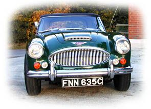 Austin Healey 3000 MKIII Convertible 1965