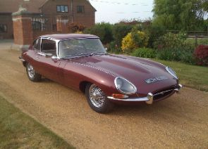 Jaguar E Type Coupe 2+2 4.2 1966