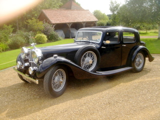 Alvis 1936 Restoration - Completed