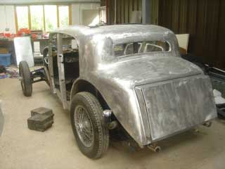 Alvis 1936 - Classic Car Restoration in Progress