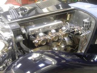 Alvis 1936 Restoration - Work on the engine and carburetors
