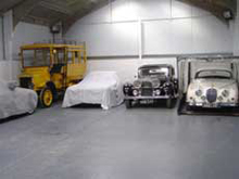 Standard Classic Car Hire Storage